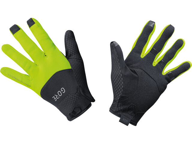 GORE WEAR C5 Cykelhandsker gul/sort | Handsker